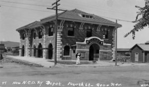 Nevada-California-Oregon Railroad Depot in Reno